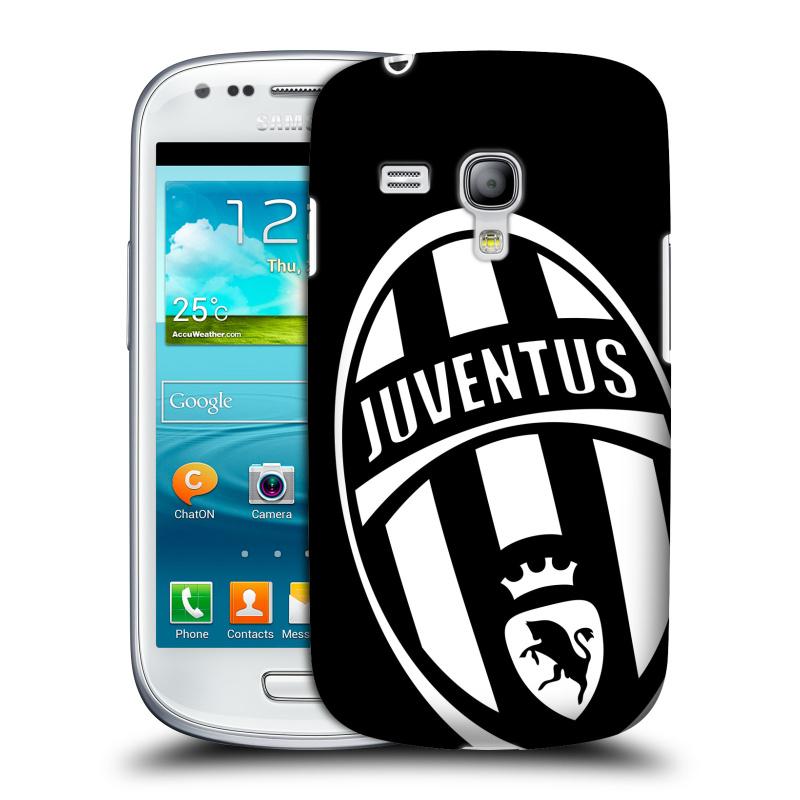 Silikonové pouzdro na mobil Samsung Galaxy S III Mini VE HEAD CASE Juventus FC - Velké Logo (Plastový kryt či obal na mobilní telefon Juventus FC Official pro Samsung Galaxy S3 Mini VE GT-i8200)