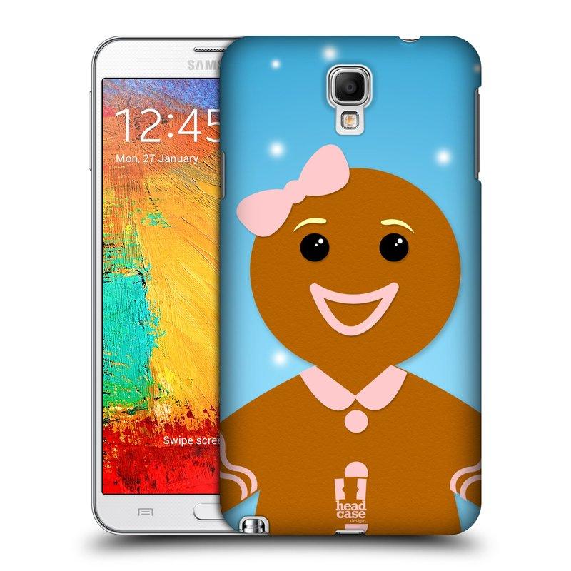 Plastové pouzdro na mobil Samsung Galaxy Note 3 Neo HEAD CASE VÁNOCE PERNÍČEK (Kryt či obal na mobilní telefon Samsung Galaxy Note 3 Neo SM-N7505)
