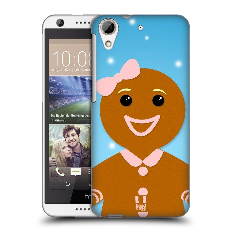 Plastové pouzdro na mobil HTC Desire 626 / 626G HEAD CASE VÁNOCE PERNÍČEK (Kryt či obal na mobilní telefon HTC Desire 626G Dual SIM a HTC Desire 626)