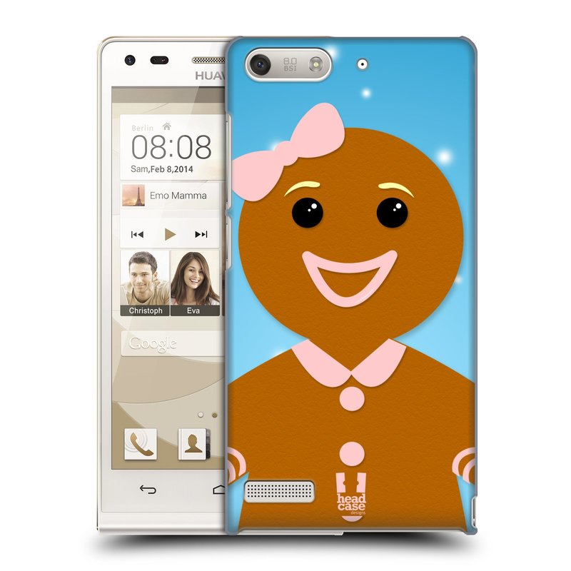 Plastové pouzdro na mobil Huawei Ascend G6 HEAD CASE VÁNOCE PERNÍČEK (Kryt či obal na mobilní telefon Huawei Ascend G6 bez LTE)