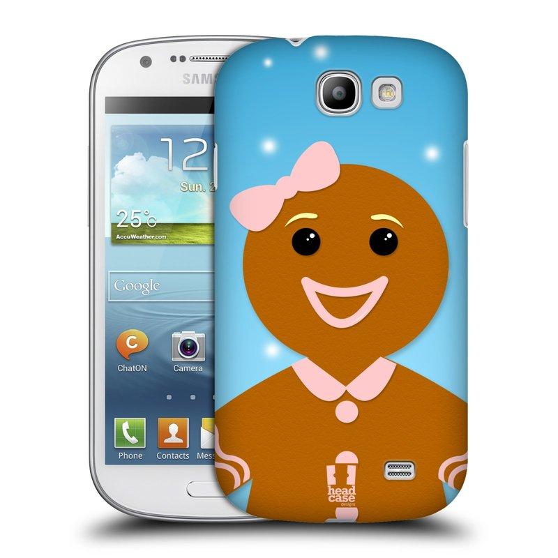 Plastové pouzdro na mobil Samsung Galaxy Express HEAD CASE VÁNOCE PERNÍČEK (Kryt či obal na mobilní telefon Samsung Galaxy Express GT-i8730)