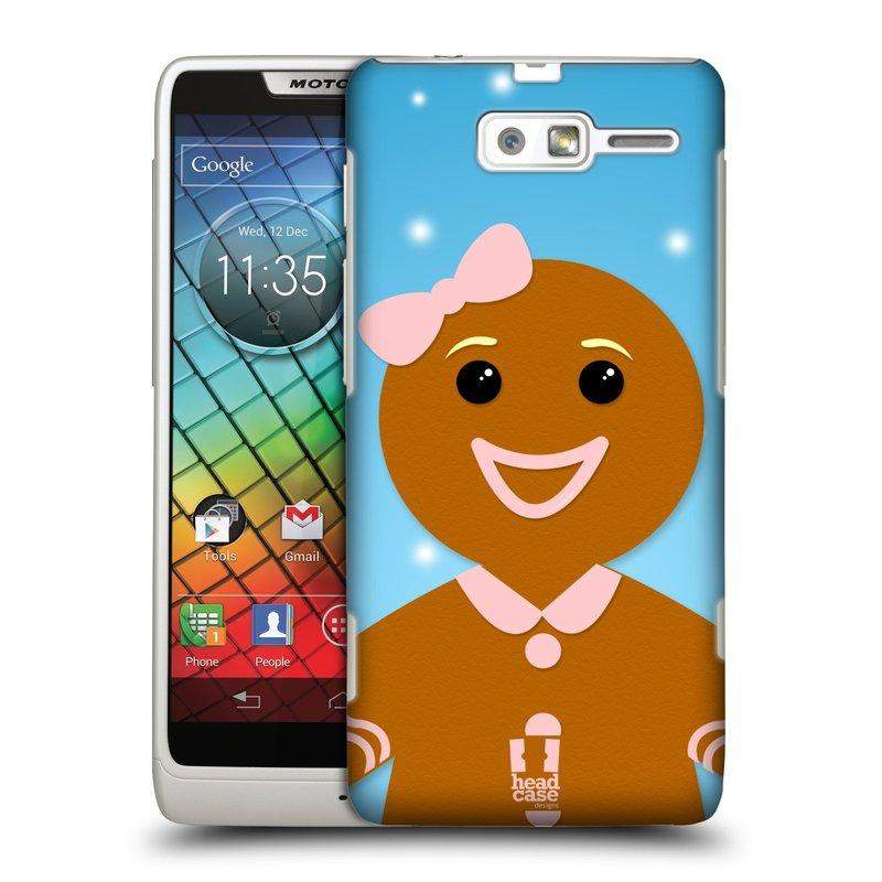 Plastové pouzdro na mobil Motorola Razr i XT890 HEAD CASE VÁNOCE PERNÍČEK (Kryt či obal na mobilní telefon Motorola Razr i XT890)