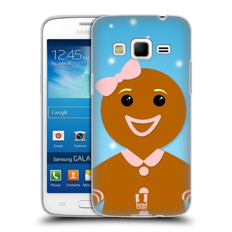 Silikonové pouzdro na mobil Samsung Galaxy Express 2 HEAD CASE VÁNOCE PERNÍČEK (Silikonový kryt či obal na mobilní telefon Samsung Galaxy Express 2 SM-G3815)