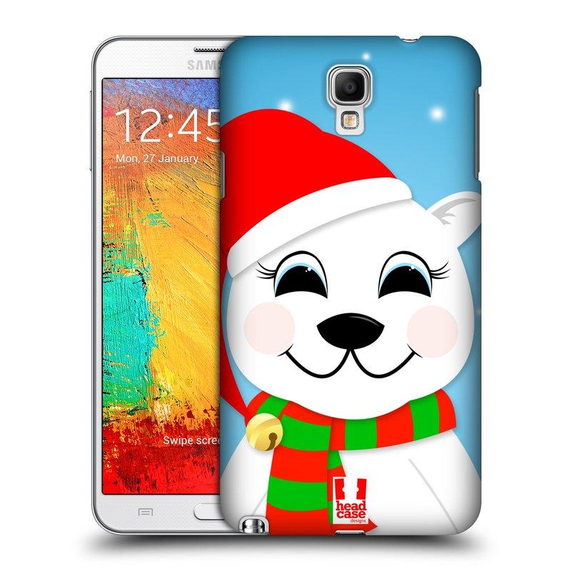Plastové pouzdro na mobil Samsung Galaxy Note 3 Neo HEAD CASE VÁNOCE POLÁRNÍ MÉĎA (Kryt či obal na mobilní telefon Samsung Galaxy Note 3 Neo SM-N7505)