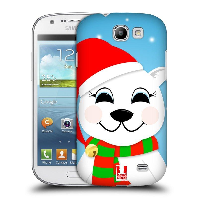 Plastové pouzdro na mobil Samsung Galaxy Express HEAD CASE VÁNOCE POLÁRNÍ MÉĎA (Kryt či obal na mobilní telefon Samsung Galaxy Express GT-i8730)