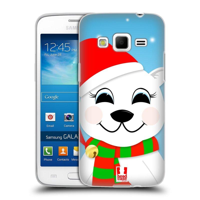 Silikonové pouzdro na mobil Samsung Galaxy Express 2 HEAD CASE VÁNOCE POLÁRNÍ MÉĎA (Silikonový kryt či obal na mobilní telefon Samsung Galaxy Express 2 SM-G3815)