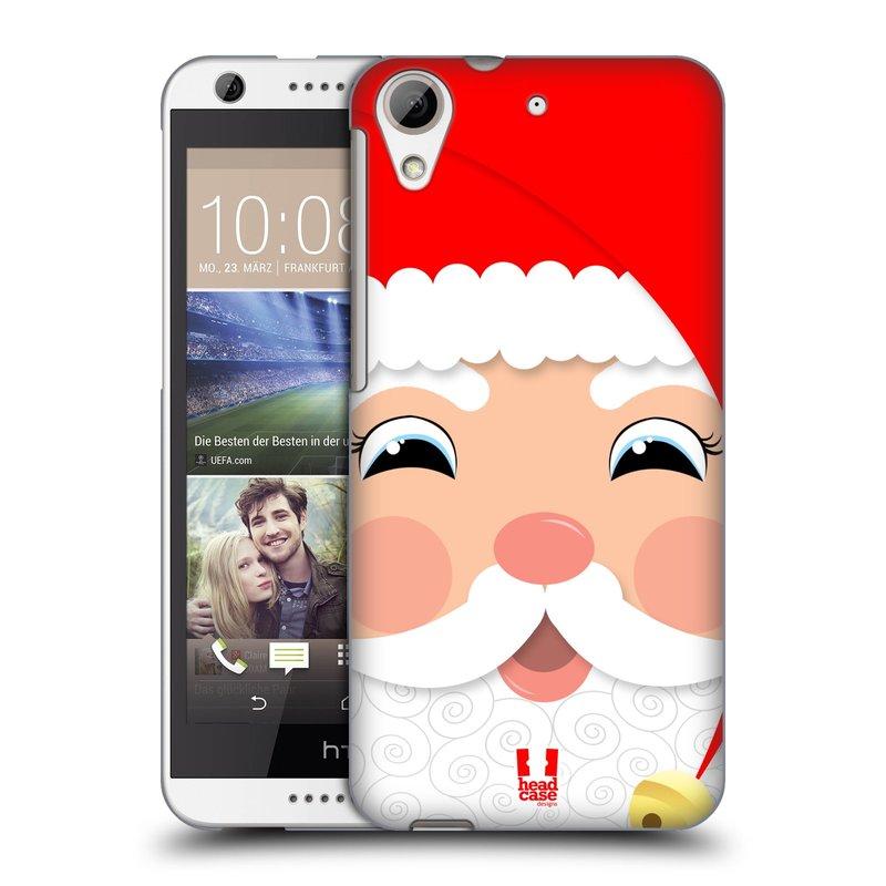Plastové pouzdro na mobil HTC Desire 626 / 626G HEAD CASE VÁNOCE SANTA (Kryt či obal na mobilní telefon HTC Desire 626G Dual SIM a HTC Desire 626)