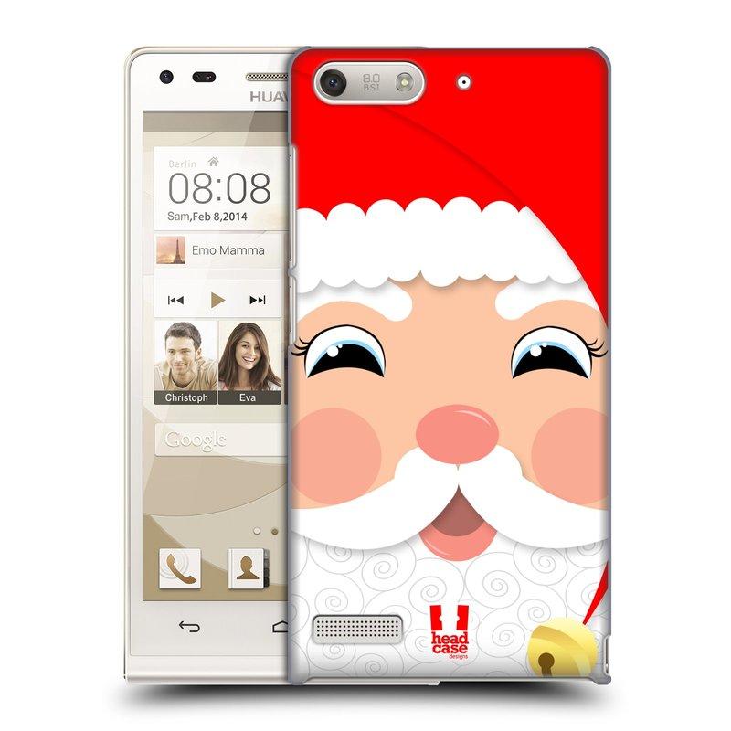 Plastové pouzdro na mobil Huawei Ascend G6 HEAD CASE VÁNOCE SANTA (Kryt či obal na mobilní telefon Huawei Ascend G6 bez LTE)