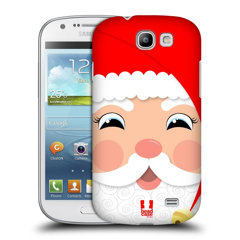 Plastové pouzdro na mobil Samsung Galaxy Express HEAD CASE VÁNOCE SANTA (Kryt či obal na mobilní telefon Samsung Galaxy Express GT-i8730)