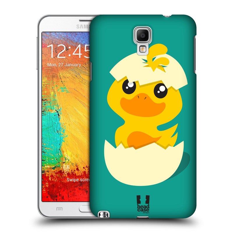 Plastové pouzdro na mobil Samsung Galaxy Note 3 Neo HEAD CASE KACHNIČKA Z VAJÍČKA (Kryt či obal na mobilní telefon Samsung Galaxy Note 3 Neo SM-N7505)