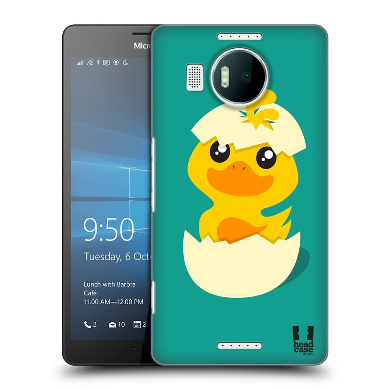Plastové pouzdro na mobil Microsoft Lumia 950 XL HEAD CASE KACHNIČKA Z VAJÍČKA (Kryt či obal na mobilní telefon Microsoft Lumia 950 XL)