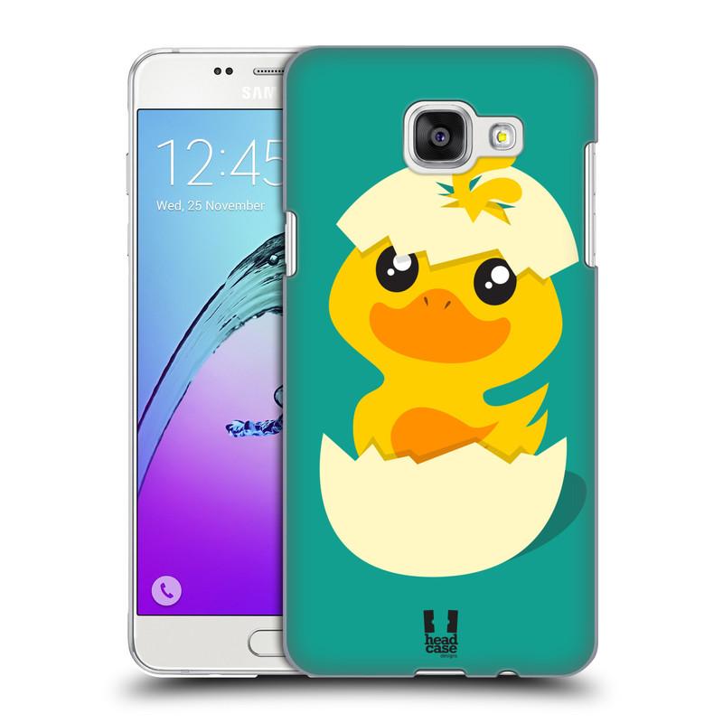 Plastové pouzdro na mobil Samsung Galaxy A5 (2016) HEAD CASE KACHNIČKA Z VAJÍČKA (Kryt či obal na mobilní telefon Samsung Galaxy A5 (2016) SM-A510F)