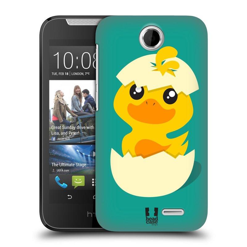 Plastové pouzdro na mobil HTC Desire 310 HEAD CASE KACHNIČKA Z VAJÍČKA (Kryt či obal na mobilní telefon HTC Desire 310)