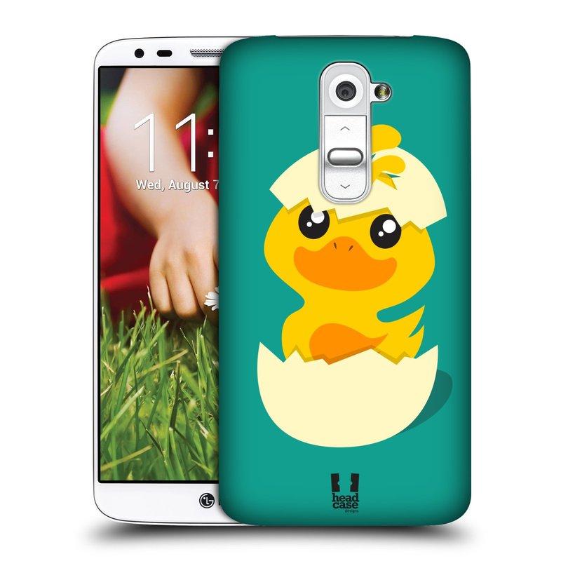 Plastové pouzdro na mobil LG G2 HEAD CASE KACHNIČKA Z VAJÍČKA (Kryt či obal na mobilní telefon LG G2 D802)