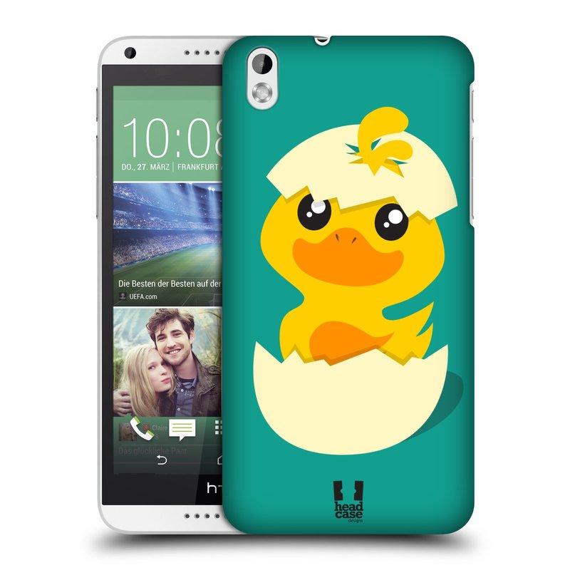 Plastové pouzdro na mobil HTC Desire 816 HEAD CASE KACHNIČKA Z VAJÍČKA (Kryt či obal na mobilní telefon HTC Desire 816)