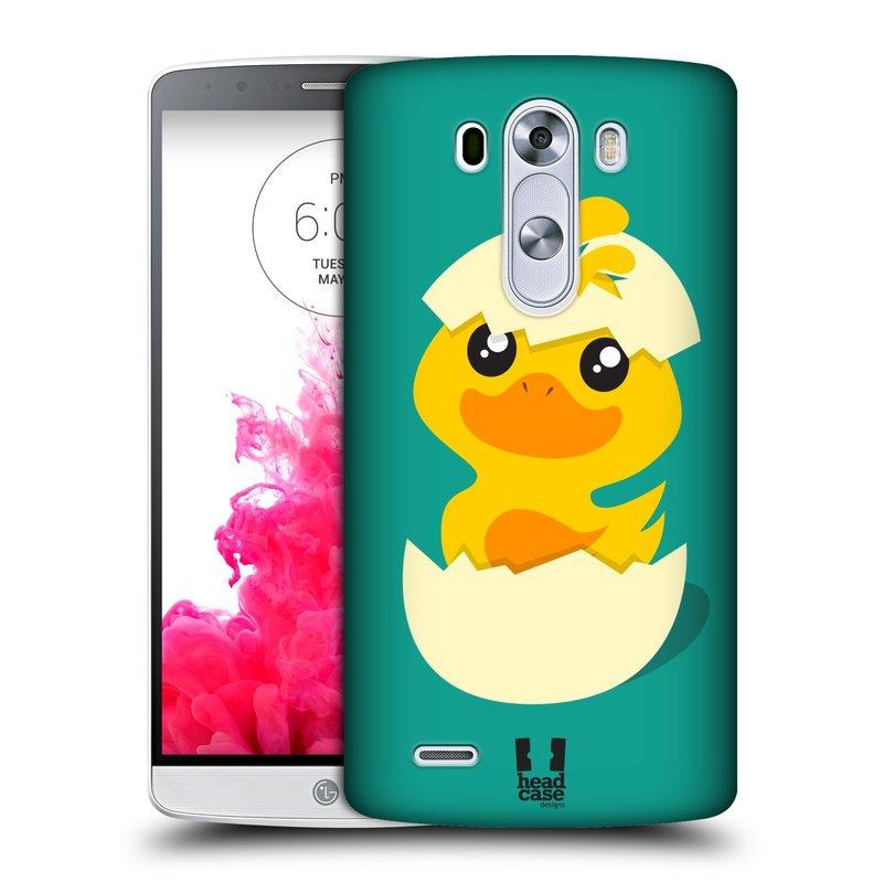 Plastové pouzdro na mobil LG G3 HEAD CASE KACHNIČKA Z VAJÍČKA (Kryt či obal na mobilní telefon LG G3 D855)