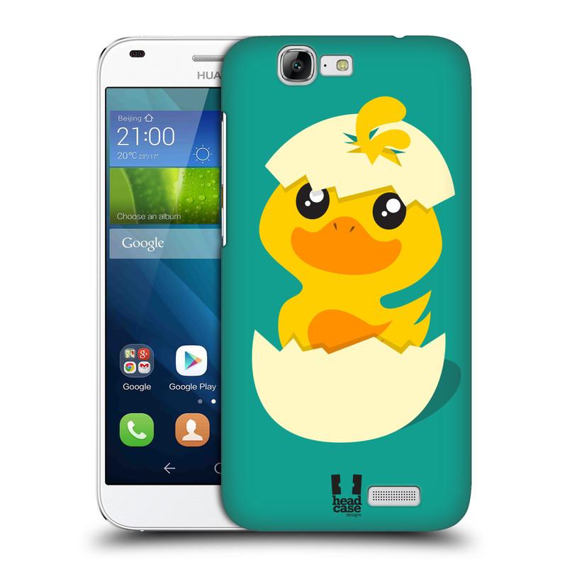 Plastové pouzdro na mobil Huawei Ascend G7 HEAD CASE KACHNIČKA Z VAJÍČKA (Kryt či obal na mobilní telefon Huawei Ascend G7)