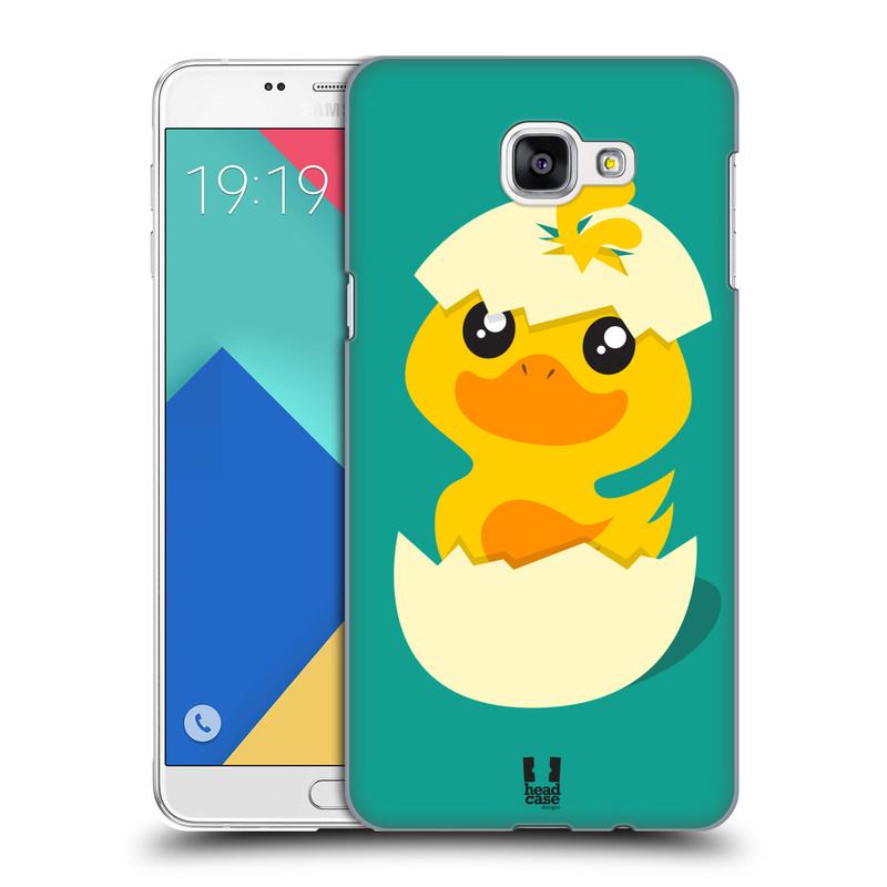 Plastové pouzdro na mobil Samsung Galaxy A9 HEAD CASE KACHNIČKA Z VAJÍČKA (Kryt či obal na mobilní telefon Samsung Galaxy A9 (2016) SM-A900)