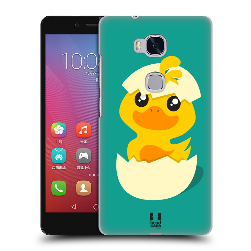 Plastové pouzdro na mobil Honor 5X HEAD CASE KACHNIČKA Z VAJÍČKA (Kryt či obal na mobilní telefon Huawei Honor 5X)