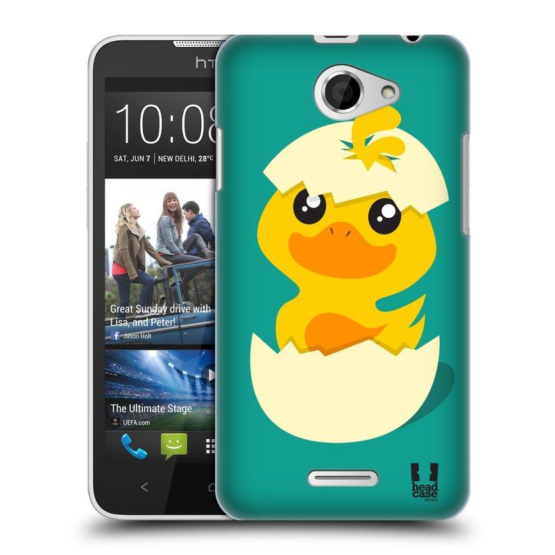 Plastové pouzdro na mobil HTC Desire 516 HEAD CASE KACHNIČKA Z VAJÍČKA (Kryt či obal na mobilní telefon HTC Desire 516 Dual SIM)