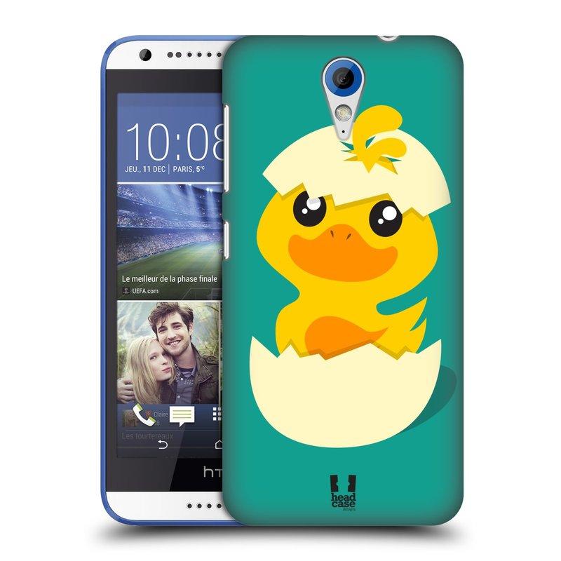 Plastové pouzdro na mobil HTC Desire 620 HEAD CASE KACHNIČKA Z VAJÍČKA (Kryt či obal na mobilní telefon HTC Desire 620)