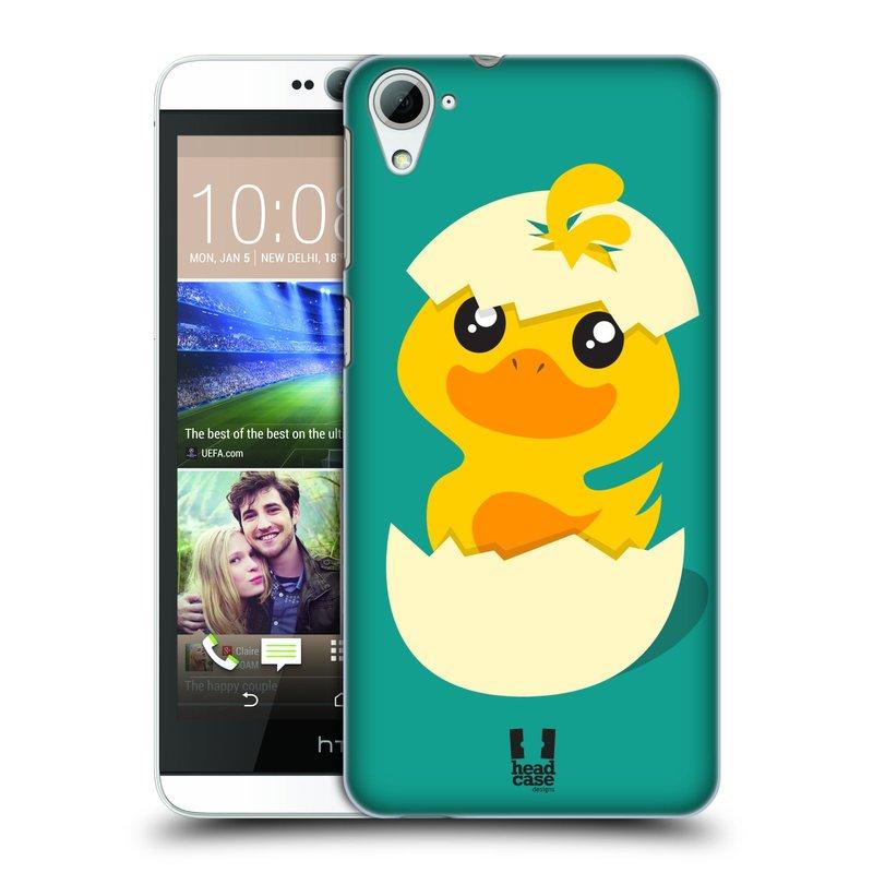 Plastové pouzdro na mobil HTC Desire 826 HEAD CASE KACHNIČKA Z VAJÍČKA (Kryt či obal na mobilní telefon HTC Desire 826 Dual SIM)