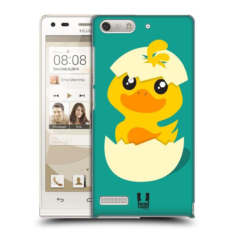 Plastové pouzdro na mobil Huawei Ascend G6 HEAD CASE KACHNIČKA Z VAJÍČKA (Kryt či obal na mobilní telefon Huawei Ascend G6 bez LTE)