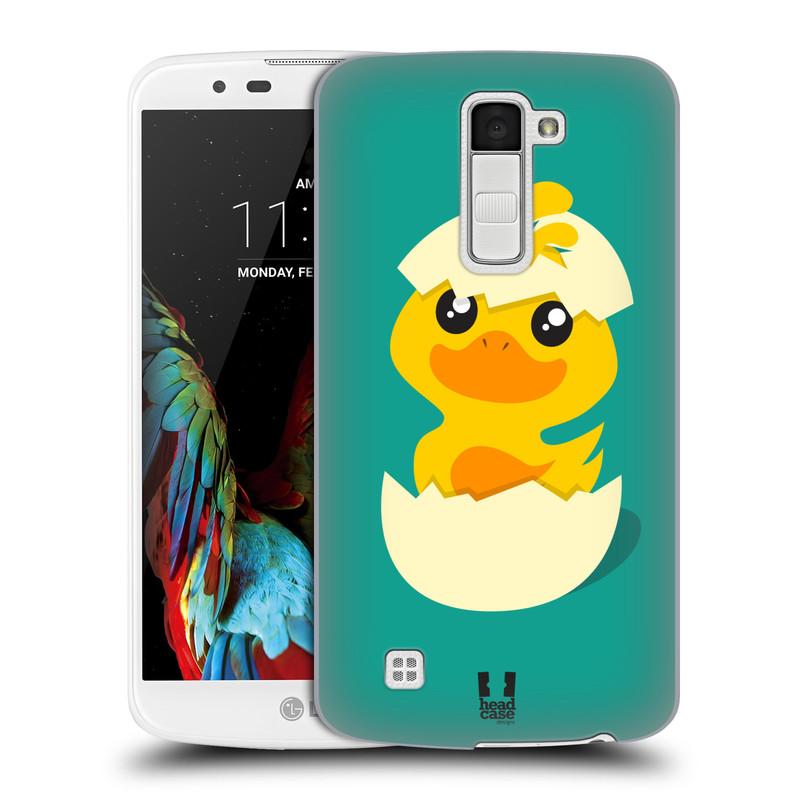 Plastové pouzdro na mobil LG K10 HEAD CASE KACHNIČKA Z VAJÍČKA (Kryt či obal na mobilní telefon LG K10)