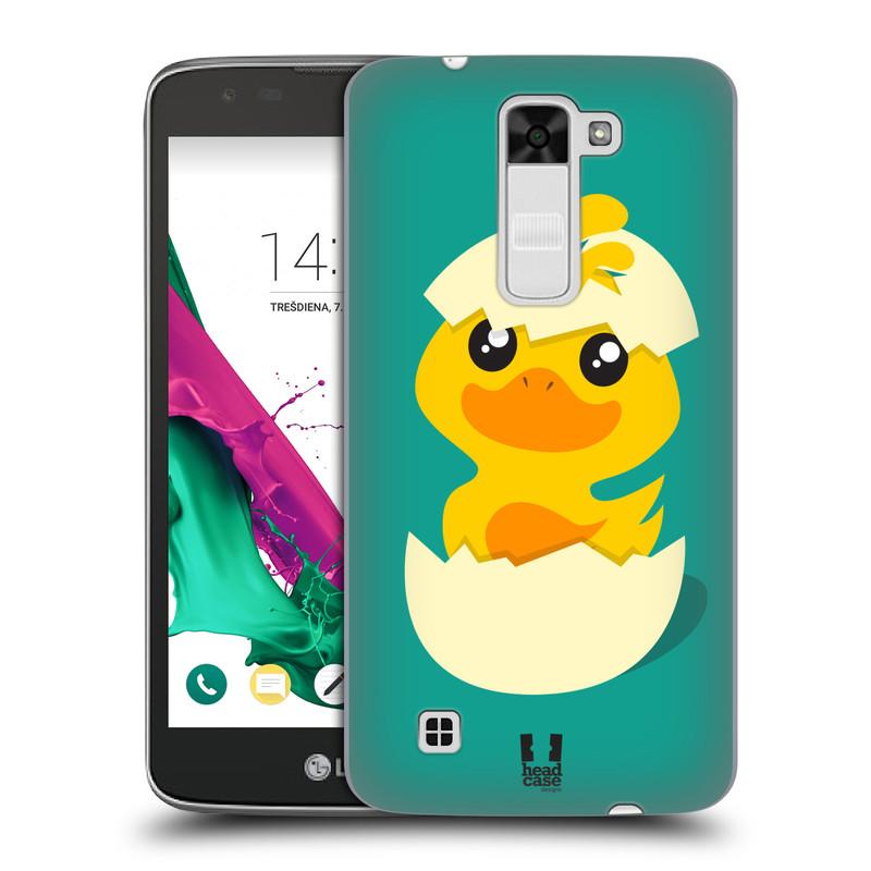Plastové pouzdro na mobil LG K7 HEAD CASE KACHNIČKA Z VAJÍČKA (Kryt či obal na mobilní telefon LG K7)