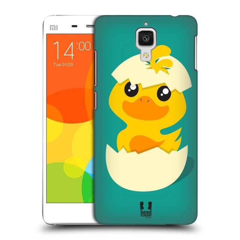 Plastové pouzdro na mobil Xiaomi Mi4 HEAD CASE KACHNIČKA Z VAJÍČKA (Kryt či obal na mobilní telefon Xiaomi Mi4)