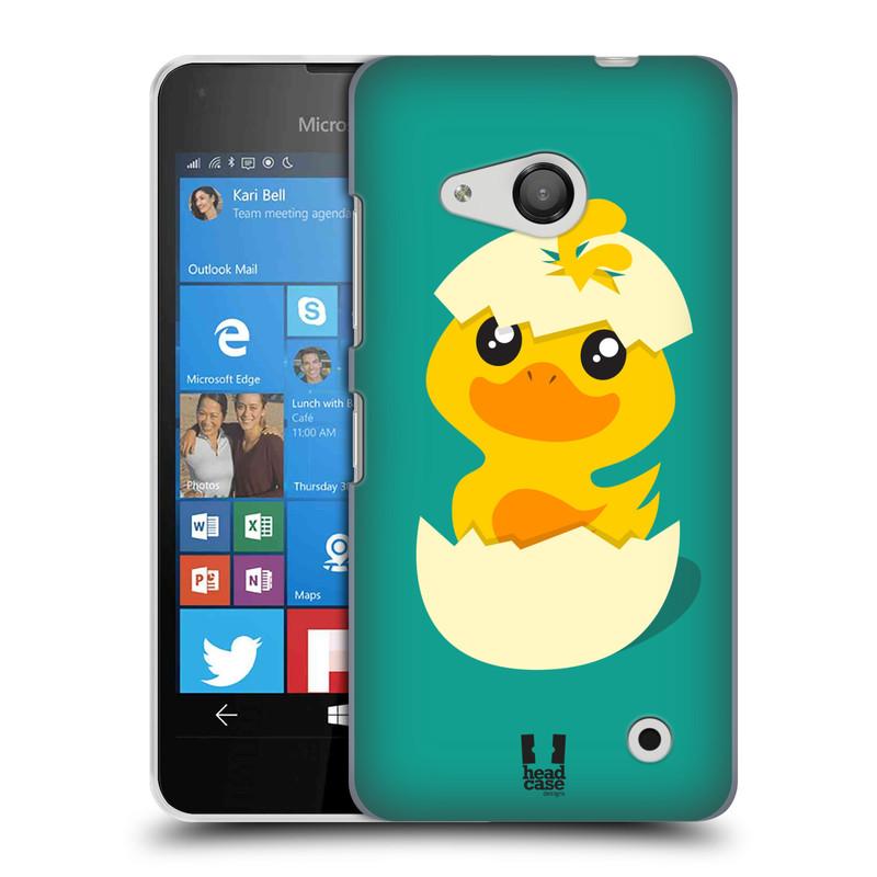 Plastové pouzdro na mobil Microsoft Lumia 550 HEAD CASE KACHNIČKA Z VAJÍČKA (Kryt či obal na mobilní telefon Microsoft Lumia 550)