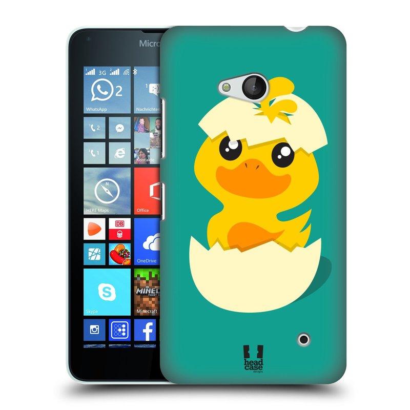 Plastové pouzdro na mobil Microsoft Lumia 640 HEAD CASE KACHNIČKA Z VAJÍČKA (Kryt či obal na mobilní telefon Microsoft Lumia 640)