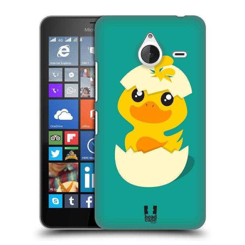 Plastové pouzdro na mobil Microsoft Lumia 640 XL HEAD CASE KACHNIČKA Z VAJÍČKA (Kryt či obal na mobilní telefon Microsoft Lumia 640 XL)