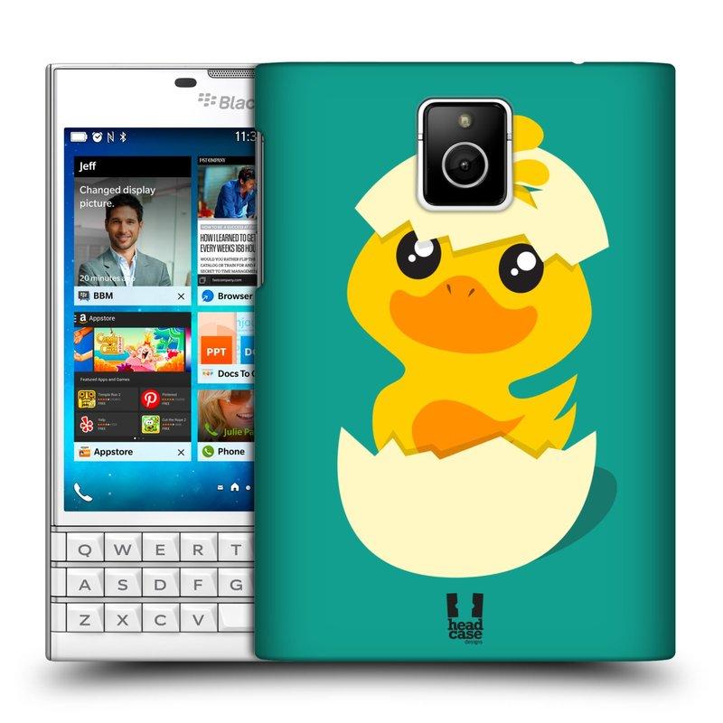 Plastové pouzdro na mobil Blackberry PASSPORT HEAD CASE KACHNIČKA Z VAJÍČKA (Kryt či obal na mobilní telefon Blackberry PASSPORT)