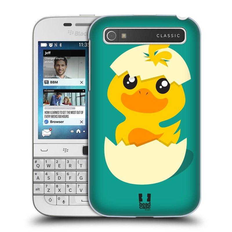 Plastové pouzdro na mobil Blackberry Classic HEAD CASE KACHNIČKA Z VAJÍČKA (Kryt či obal na mobilní telefon Blackberry Classic)