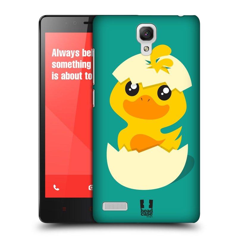 Plastové pouzdro na mobil Xiaomi Redmi Note LTE HEAD CASE KACHNIČKA Z VAJÍČKA (Kryt či obal na mobilní telefon Xiaomi Redmi Note LTE (4G) s 5,5'' displejem)