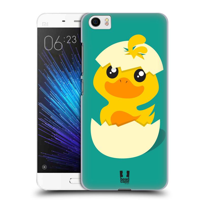 Plastové pouzdro na mobil Xiaomi Mi5 HEAD CASE KACHNIČKA Z VAJÍČKA (Plastový kryt či obal na mobilní telefon Xiaomi Mi5)
