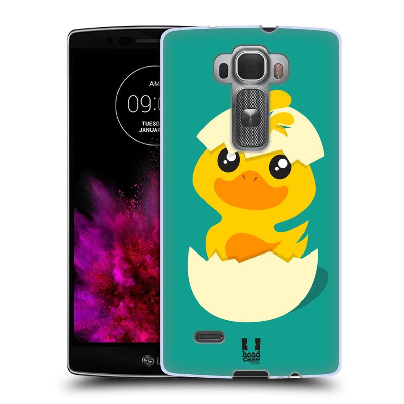 Silikonové pouzdro na mobil LG G Flex 2 HEAD CASE KACHNIČKA Z VAJÍČKA (Silikonový kryt či obal na mobilní telefon LG G Flex 2 H955)