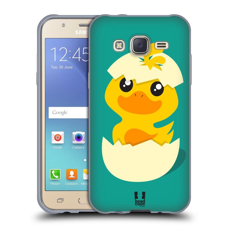 Silikonové pouzdro na mobil Samsung Galaxy J5 HEAD CASE KACHNIČKA Z VAJÍČKA (Silikonový kryt či obal na mobilní telefon Samsung Galaxy Samsung Galaxy J5 SM-J500)