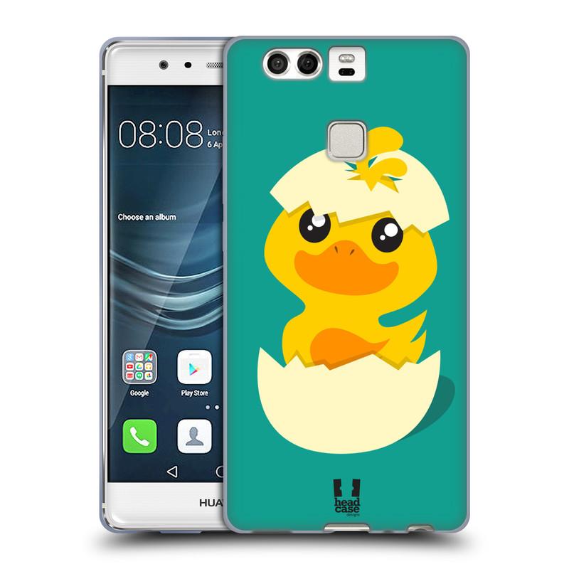 Silikonové pouzdro na mobil Huawei P9 HEAD CASE KACHNIČKA Z VAJÍČKA (Silikonový kryt či obal na mobilní telefon Huawei P9)