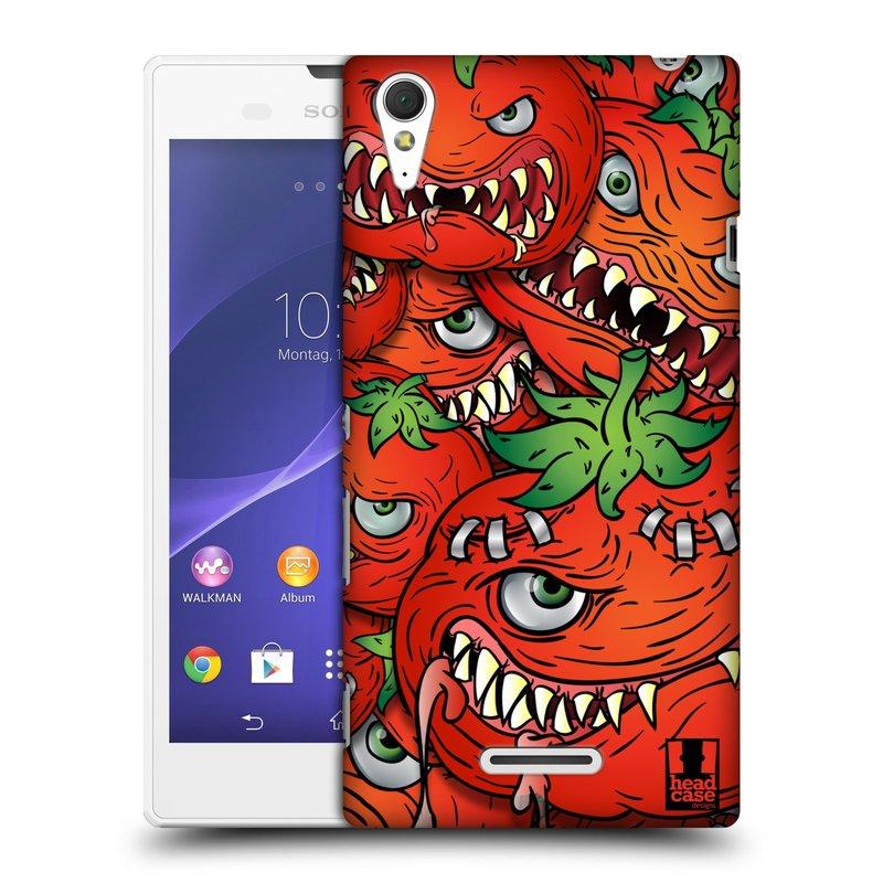Plastové pouzdro na mobil Sony Xperia T3 D5103 HEAD CASE Rajčátka (Kryt či obal na mobilní telefon Sony Xperia T3 )