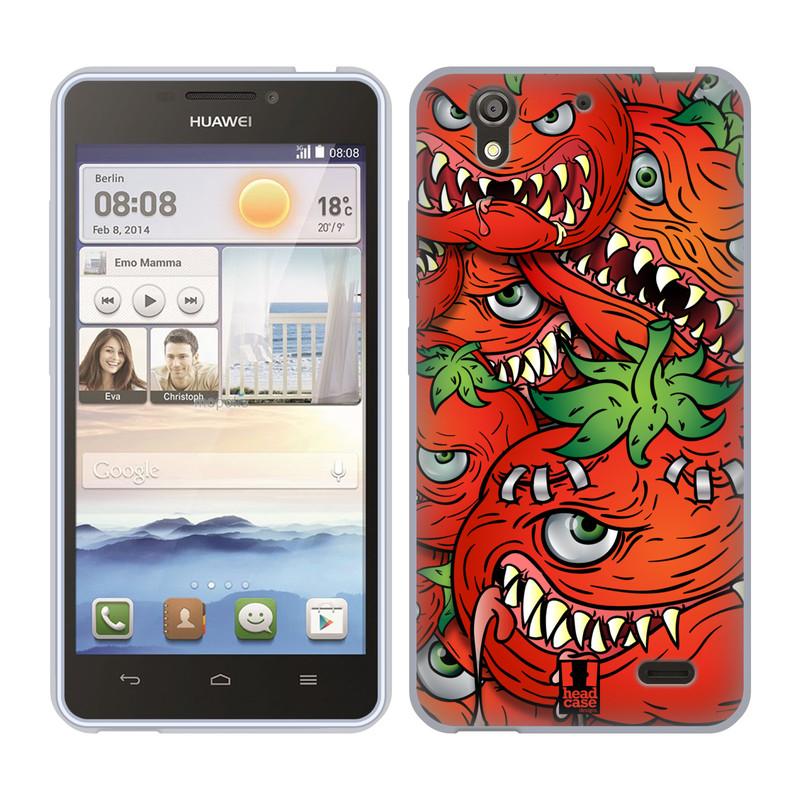 Silikonové pouzdro na mobil Huawei Ascend Y530 HEAD CASE Rajčátka (Silikonový kryt či obal na mobilní telefon Huawei Ascend Y530)
