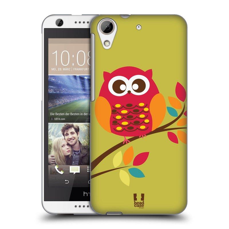 Plastové pouzdro na mobil HTC Desire 626 / 626G HEAD CASE SOVIČKA NA VĚTVI (Kryt či obal na mobilní telefon HTC Desire 626G Dual SIM a HTC Desire 626)