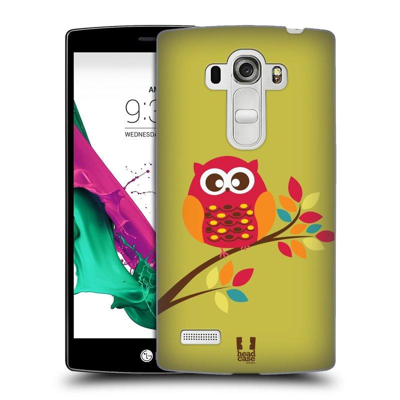 Plastové pouzdro na mobil LG G4s HEAD CASE SOVIČKA NA VĚTVI (Kryt či obal na mobilní telefon LG G4s H735n)