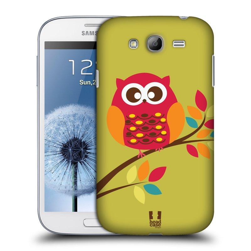 Plastové pouzdro na mobil Samsung Galaxy Grand Neo Plus HEAD CASE SOVIČKA NA VĚTVI (Kryt či obal na mobilní telefon Samsung Galaxy Grand Neo Plus GT-i9060i)