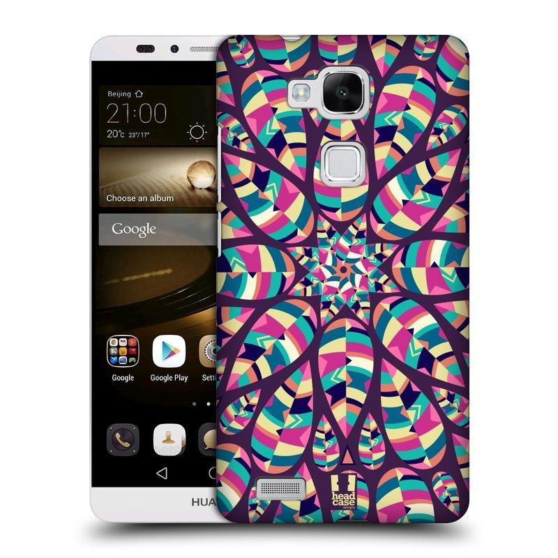 Plastové pouzdro na mobil Huawei Ascend Mate 7 HEAD CASE Shine (Kryt či obal na mobilní telefon Huawei Ascend Mate7)