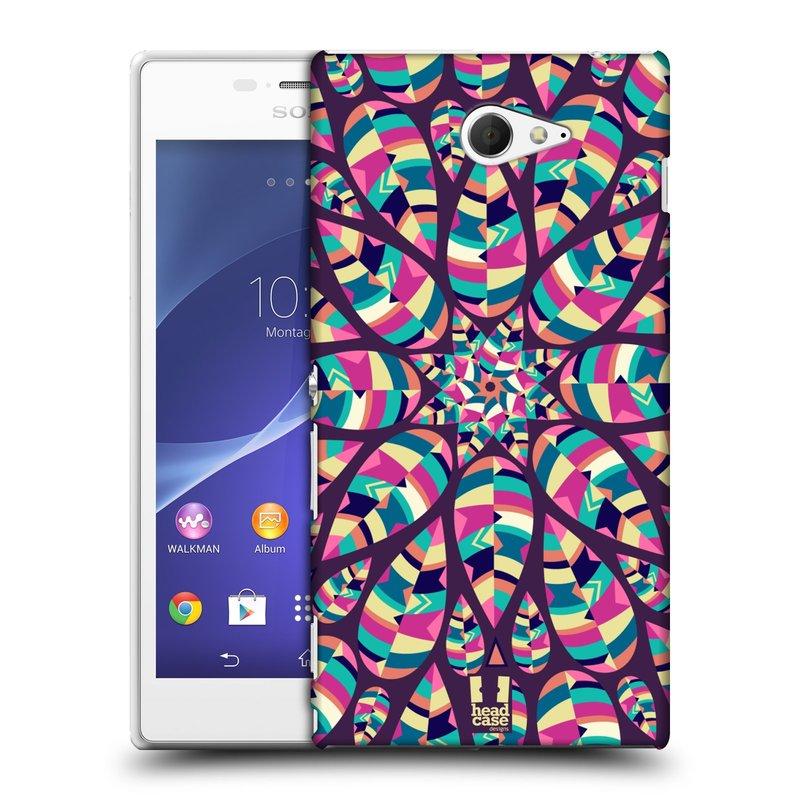 Plastové pouzdro na mobil Sony Xperia M2 D2303 HEAD CASE Shine (Kryt či obal na mobilní telefon Sony Xperia M2 )