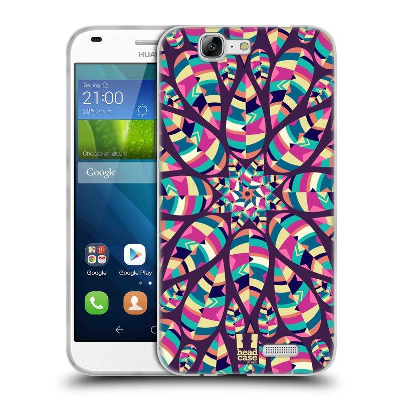 Silikonové pouzdro na mobil Huawei Ascend G7 HEAD CASE Shine (Silikonový kryt či obal na mobilní telefon Huawei Ascend G7)