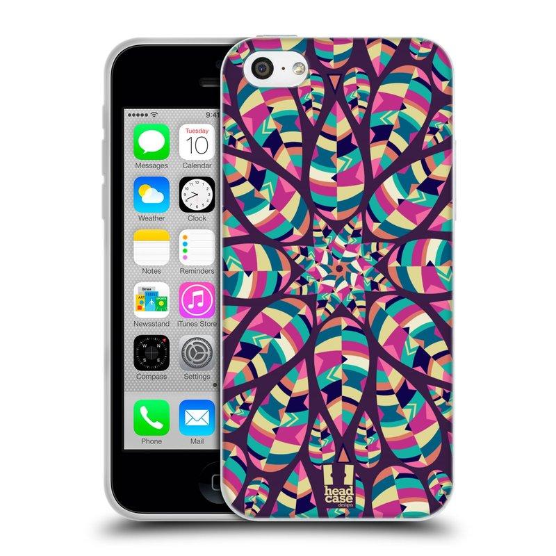 Silikonové pouzdro na mobil Apple iPhone 5C HEAD CASE Shine (Silikonový kryt či obal na mobilní telefon Apple iPhone 5C)