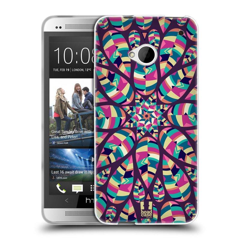 Silikonové pouzdro na mobil HTC ONE M7 HEAD CASE Shine (Silikonový kryt či obal na mobilní telefon HTC ONE M7)